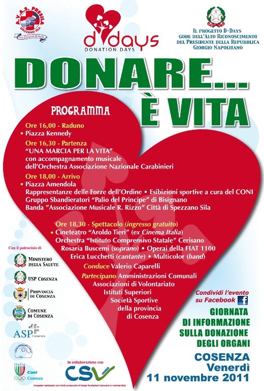 Donare è vita » A.V.A.S. Presila